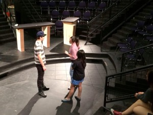 I also hopped in to rehearsal to put together some stage violence. Because nothing gets me feeling like myself again like punching students.