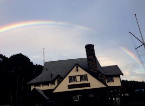 side-note: check out this rainbow I saw on Friday!
