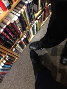 alternately, you could find a partner to go dance in a bookstore with.  No word of a lie, this is a past time of mine.
