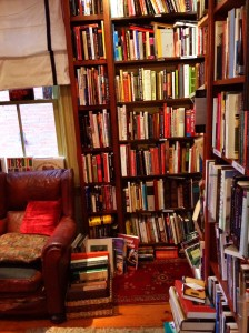 This is a bookstore; not my apartment; but I kinda wish I lived here.