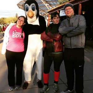 Us with the Penguin!