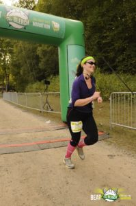 Beat the Blerch finish line; September 2015